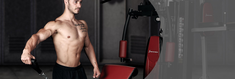 Allenamento Sportstech con il peso